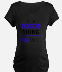 It's ROCCO thing, you wouldn't u Maternity T-Shirt