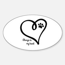 Always in my Heart Decal