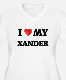 I love my Xander Plus Size T-Shirt