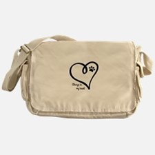 Always in my Heart Messenger Bag