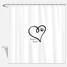 Always in my Heart Shower Curtain