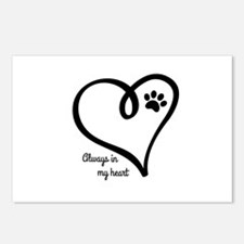 Always in my Heart Postcards (Package of 8)