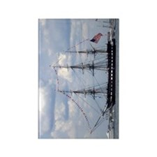 USS Constitution Rectangle Magnet