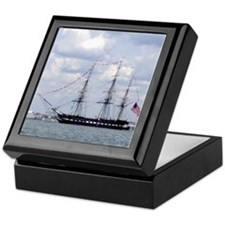 USS Constitution Keepsake Box