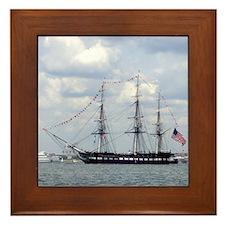 USS Constitution Framed Tile
