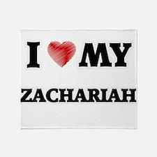 I love my Zachariah Throw Blanket