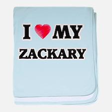 I love my Zackary baby blanket