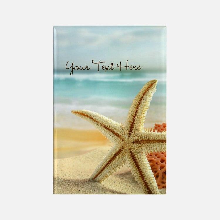 Personalized -Beach Starfish* Magnets