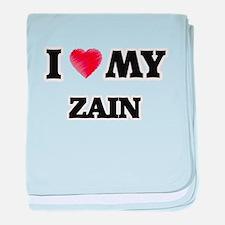 I love my Zain baby blanket