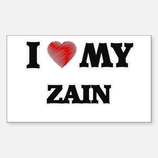 I love my Zain Decal
