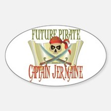 Captain Jermaine Oval Decal