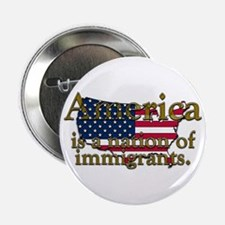 """Nation of Immigrants 2.25"""" Button"""