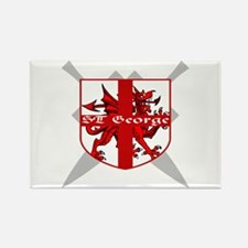 SAINT GEORGE FOR ENGLAND Rectangle Magnet