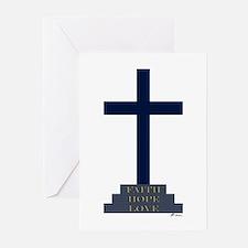 Calvary Cross Cards w/ Scripture (Pk of 10)