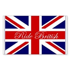 Ride British Rectangle Decal