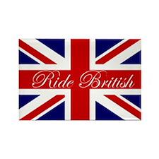 Ride British Rectangle Magnet