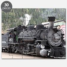 Steam Train engine: Colorado, USA Puzzle