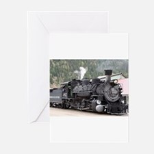 Steam Train: Colorado Greeting Cards