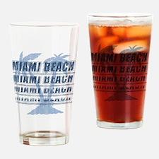 Cute Miami beach souvenir Drinking Glass