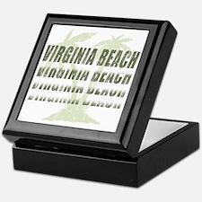 Unique Virginia beach Keepsake Box