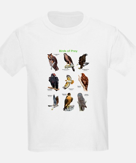 Northern American Birds of Prey T-Shirt