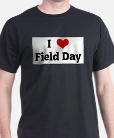 I Love Field Day Ash Grey T-Shirt