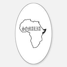 Unique Somalia Sticker (Oval)
