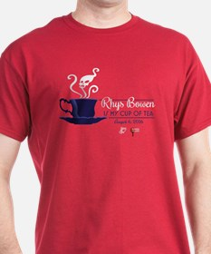Rhys Bowen Is My Cup Of Tea T-Shirt