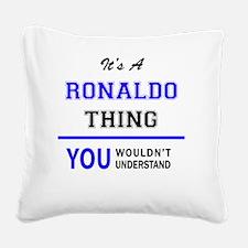 Ronaldo Square Canvas Pillow