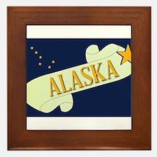Alaska Scroll Framed Tile