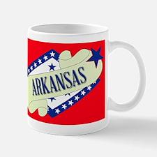 Arkansas Scroll Mugs