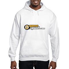 Hooded Sweatshirt With Yellow Logo