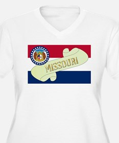 Missouri Scroll Plus Size T-Shirt