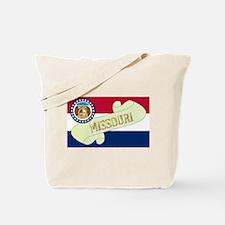 Missouri Scroll Tote Bag