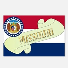 Missouri Scroll Postcards (Package of 8)