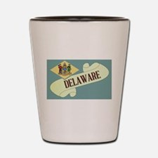 Delaware Scroll Shot Glass