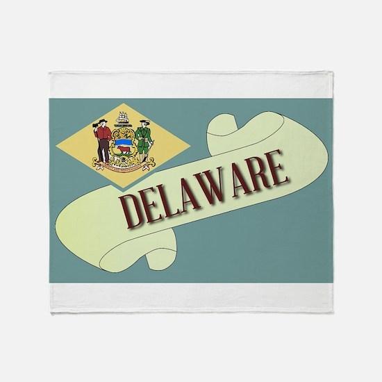 Delaware Scroll Throw Blanket