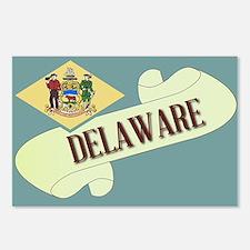 Delaware Scroll Postcards (Package of 8)