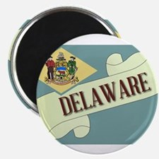 Delaware Scroll Magnets