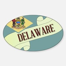 Delaware Scroll Decal