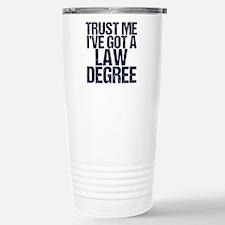 Lawyer Trust Me Travel Mug