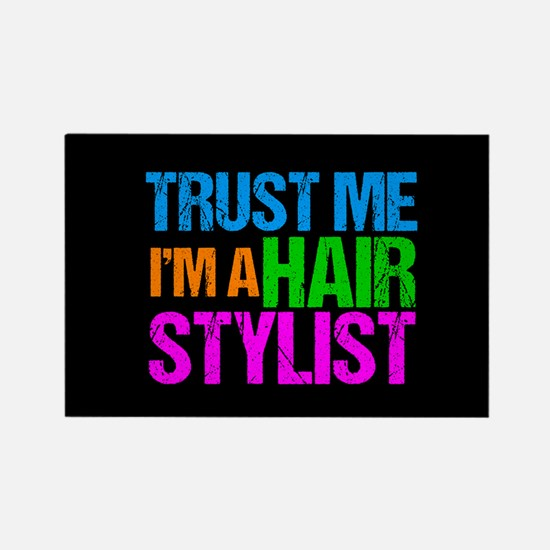 Hair Stylist Rectangle Magnet