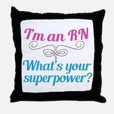 Super RN Cute Throw Pillow