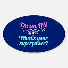 Super RN Cute Sticker (Oval)