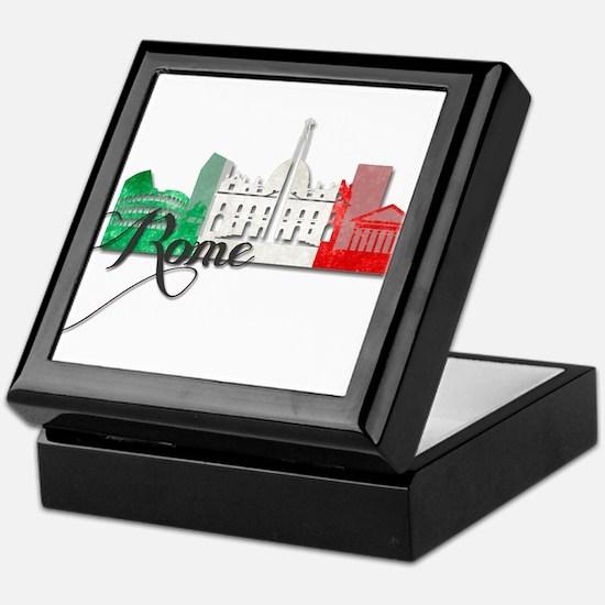 Rome Italy Keepsake Box
