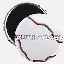 Outline Map of Saudi Arabia Magnets