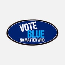 Vote Blue Democrat Patch