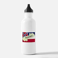 Mississippi Scroll Water Bottle