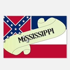 Mississippi Scroll Postcards (Package of 8)