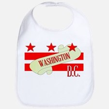 Washington DC Scroll Bib